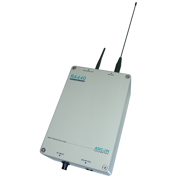 Collecteur de stations radio UHF / transmetteur GSM/GPRS RA440